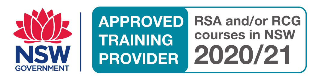 NSW Approved Training Provider - RSA/RCG 2018/2019
